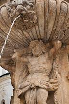 Kohl's fountain in Prague Castle. Prague, Czech Republic. - Photo #29652