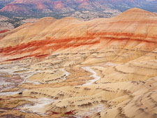 Painted Hills at the John Day Fossil Beds. Oregon. - Photo #27652