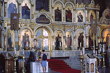 Inside Uspensky Cathedral. Helsinki, Finland. - Photo #452