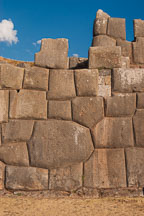 The stones fit precisely together without any mortar. Sacsayhuaman. Peru. - Photo #9552