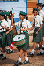 School children in a band. Puerto Maldonado, Peru. - Photo #9052