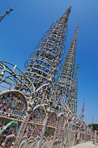 Towers. Watts, Los Angeles, California, USA. - Photo #6852