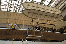 Wright brother's airplane at the Smithsonian Air and Space Museum. Washington, D.C. - Photo #1852