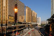 Royal Pacific Hotel and Canton Road. Kowloon, Hong Kong, China. - Photo #14753