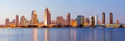 San Diego skyline. - Photo #25953