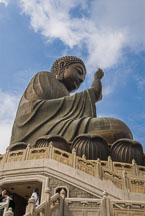 Tian Tan Buddha. Lantau Island, Hong Kong, China. - Photo #16053