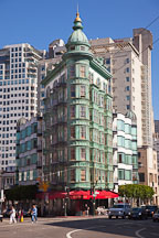Columbus Tower at 916 Kearny Street. San Francisco, California. - Photo #22154