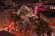 Third Street Promenade viewed from above. Santa Monica, California, USA. - Photo #8354