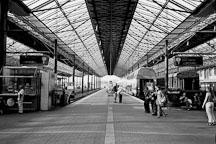 Railway platform at Helsinki Central Railway Station. Helsinki, Finland - Photo #3155