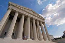 The U.S. Supreme Court. Washington, D.C., USA. - Photo #11255