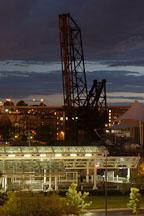 Conrail bridge. The Flats, Cleveland, Ohio, USA - Photo #4256