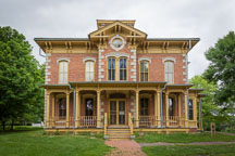 Flynn house. Living history farms, Urbandale, Iowa. - Photo #32956