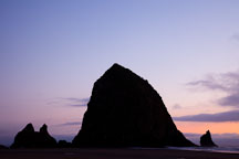 Haystack rock, Cannon Beach, Oregon. - Photo #28456