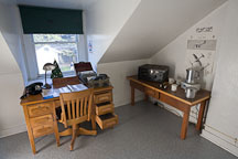 Radio room in Point Pinos Lighthouse. Pacific Grove, California. - Photo #19556