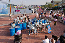 Steel orchestra, Baltimore, Maryland, USA. - Photo #3956