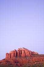 Backside of Cathedral Rock. Sedona, Arizona. - Photo #17657