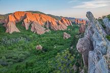 Lyons overlook. Roxborough State Park, Colorado. - Photo #33157