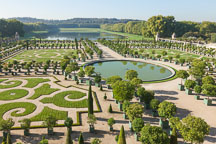 Versailles Orangerie, a grand citrus garden. Versailles, France. - Photo #31757