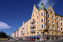 Building near Kaivopuisto Park. Helsinki, Finland. - Photo #358