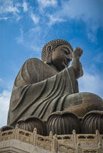 Tian Tan Buddha. Lantau Island, Hong Kong, China. - Photo #16058