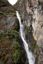 Waterfall with Drupchu (holy water) of one hundred thousand dakinis. Paro Valley, Bhutan. - Photo #24158