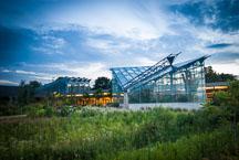 Christina Reiman Butterfly Wing at Reiman Gardens. Ames, Iowa, USA. - Photo #12959