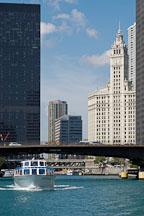 Chicago river. Chicago, Illinois, USA. - Photo #10759