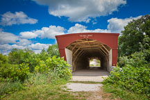 Holliwell Bridge. Madison County, Iowa. - Photo #32959