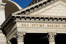 Close-up of the Cathedral Basilica of St. Joseph. San Jose, California, USA. - Photo #4845