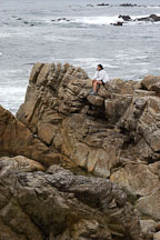 Enjoying the outdoors. 17-Mile drive, California, USA. - Photo #4780