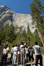 Japanese tourists admiring El Capitan. Yosemite National Park, California, USA. - Photo #4599