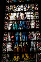 Stained glass. Garfield monument, Lake View Cemetery, Cleveland, Ohio, USA - Photo #4198