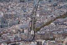 Aerial view of Paris metro tracks. - Photo #31506