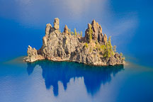 Phantom Ship. Crater Lake, Oregon. - Photo #27506