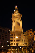 Terminal tower at night. Cleveland, Ohio, USA. - Photo #4106