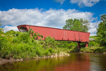 Holliwell covered bridge. Madison County, Iowa. - Photo #32960