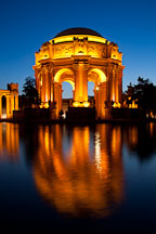 Palace of Fine Arts. San Francisco, California. - Photo #28960