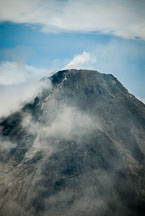 Close-up of volcano rim. Arenal Volcano, Costa Rica. - Photo #14160