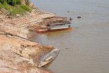 River boats. Madre de Dios river, Amazon, Peru. - Photo #8961