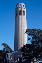 Coit Tower, San Francisco, California, USA. - Photo #1161