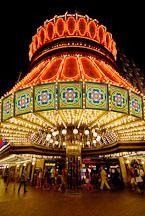 Entrance to Barbary Coast casino. Las Vegas, Nevada, USA. - Photo #13361
