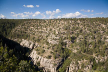 Walnut Canyon Walls. Arizona. - Photo #17861