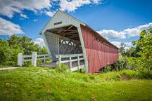 Imes Covered bridge. Madison County, Iowa. - Photo #32962