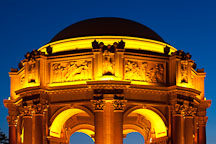 Rotunda of the Palace of Fine Arts. San Francisco, California. - Photo #28962