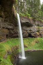 South Falls at Silver Falls State Park. - Photo #28062