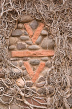 V-bar-V Ranch symbol. Arizona, USA. - Photo #17762