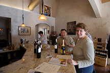 Wine tasting. Napa Valley, California, USA. - Photo #4562