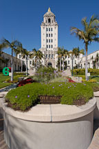 Beverly Hills City Hall. Beverly Hills, California, USA. - Photo #7163