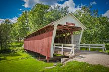 Cutler-Donahoe bridge. Madison County, Iowa. - Photo #32963