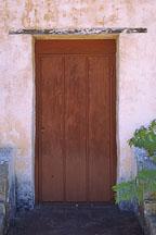 Door. Carmel Mission, San Carlos Borromeo de Carmelo, Carmel, California, USA. - Photo #263